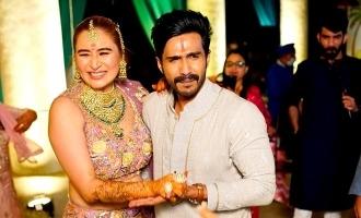 Vishnu Vishal and Jwala Khatta dance photo viral