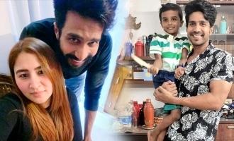 Vishnu Vishal's wife and son make his birthday special