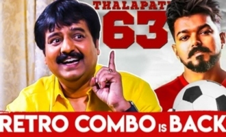 THALAPATHY 63 : Vijay's Kalakal Message to the Retro Combo | Actor Vivek Reveals