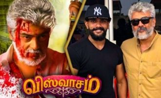 Ajith Sir was BLEEDING on sets: Vivek Teja Interview about Viswasam Fight Making