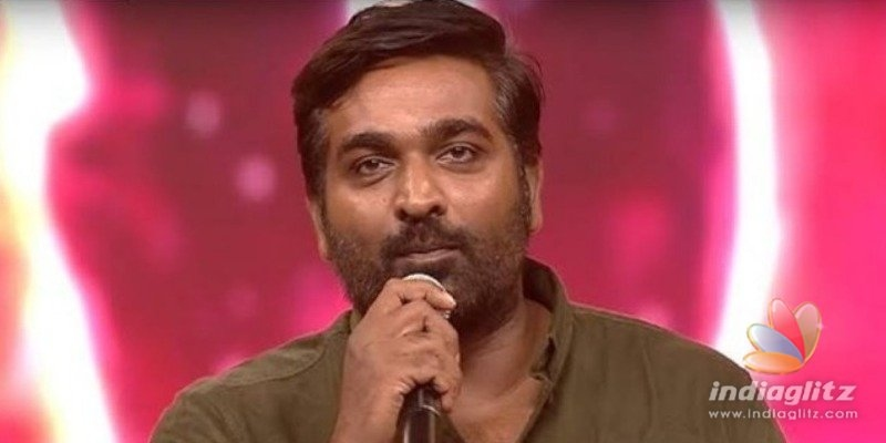 Vijay Sethupathis open hearted speech at Master audio launch