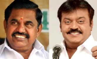 TN CM Edappadi Palanichamy meet Vijayakanth