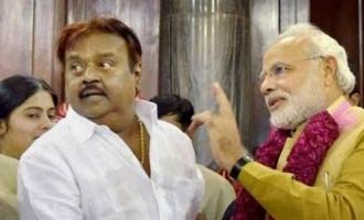 பிரதமர் மோடிக்கு கேப்டன் விஜயகாந்த் வாழ்த்து!
