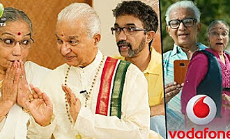 Vodafone Couple Interview - Padma Bhushan Awardee Couple From Vodafone's Latest Ads