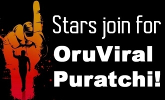 Stars join for Oru Viral Puratchi