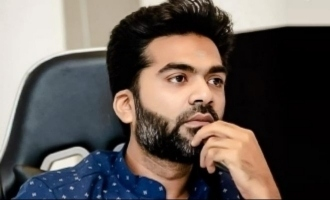Simbu's emotional condolence message to Gangai Amaran family