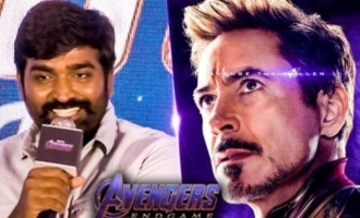 WOW: Vijay Sethupathi as IRON MAN in Avengers Endgame