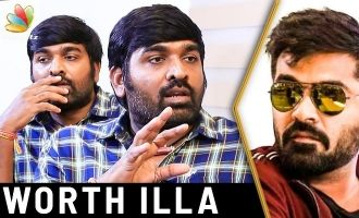 VJS calls himself a 'pillakka payan': Vijay Sethupathi Interview about Simbu & Chekka Chivantha Vaanam Movie