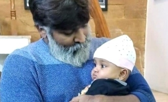 Vijay Sethupathi's cute moments with a baby wins hearts!