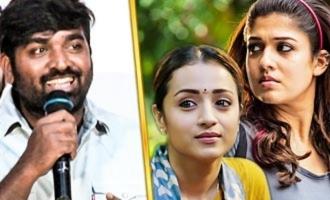Trisha or Nayanthara ? : Vijay Sethupathi Funny Reply