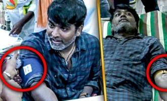 Vijay Sethupathi Donates Blood
