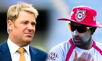 Shane Warne lashes out at Ashwin!