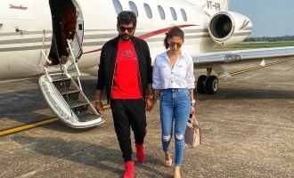 Nayanthara and Vignesh Sivan head to Cochin