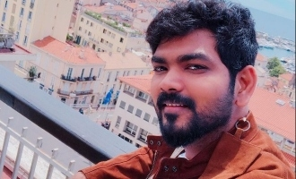 vignesh sivan released the title and first look of Vijay Sri next