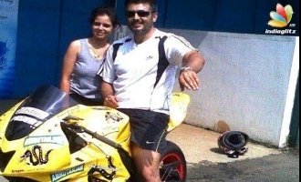 Viral Video! Thala Ajith's magical words to female bike racer