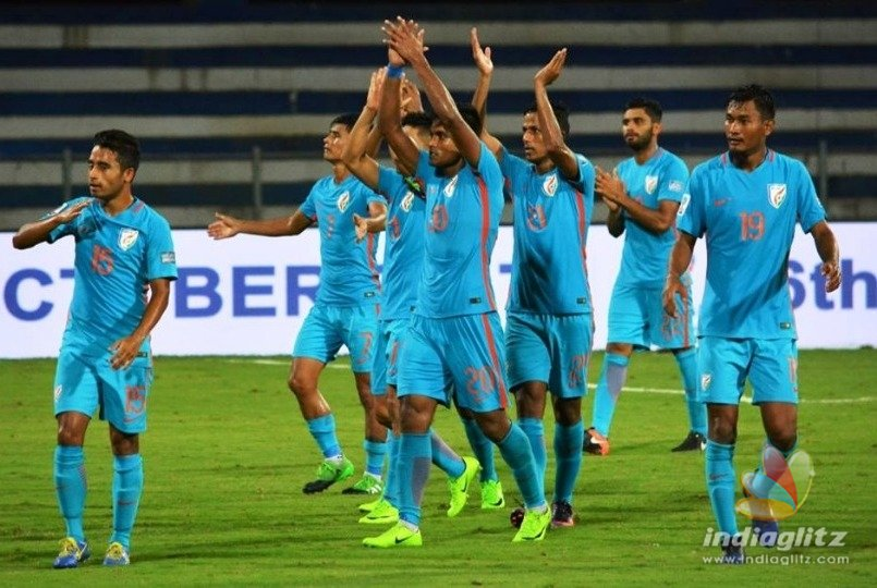 Indian football team big improvement in FIFA world rankings