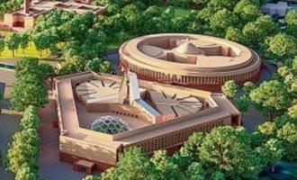 இந்திய நாடாளுமன்றத்தின் புதிய மாதிரி வடிவம் வெளியீடு; 2024 க்குள் கட்டி முடிக்கத் திட்டம்