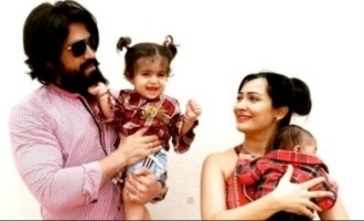 'KGF' hero Yash's little son giggles and manages fear in adorable new video