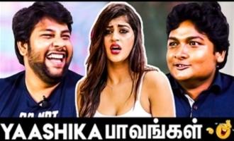 Yaashika Anand's Mokka Joke Parithabangal | Gopi & Sudhakar Hilarious Interview