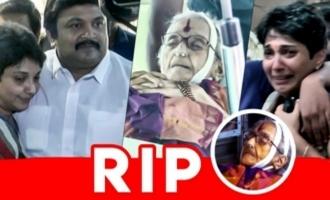 Prabhu Pays Last Respects I YG Mahendran I Rajalakshmi Parthasarathy Passes Away