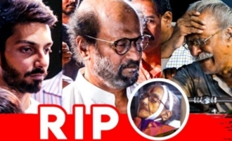 Rajini, Anirudh pays last respects to Y G Mahendra's mom