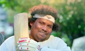 Yogi Babu shares his awesome photo as cricket champion in school days