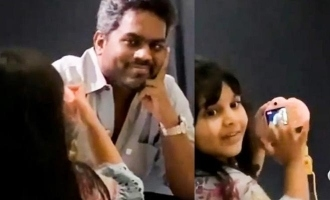 Yuvan posing for his lil daughter turned photographer - appealing video captures heart