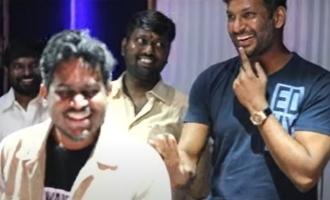 Yuvan musical magin in Chakra background score video viral