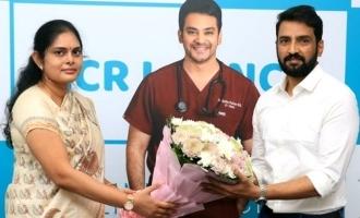 Santhanam Launches Zi Clinic ECR Branch