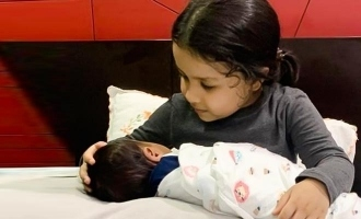 Ziva Dhoni's adorable photos with a baby wins hearts!