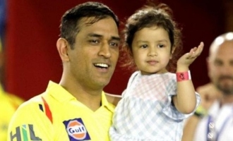 Zhiva Dhoni gives an important message to the people of India in cute video