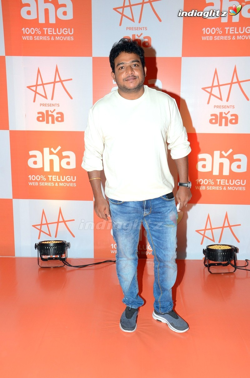 Allu Arjun AA Presents AHA Grand Event