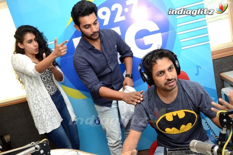 Aadi & Nithya Naresh @ 92.7 Big Fm