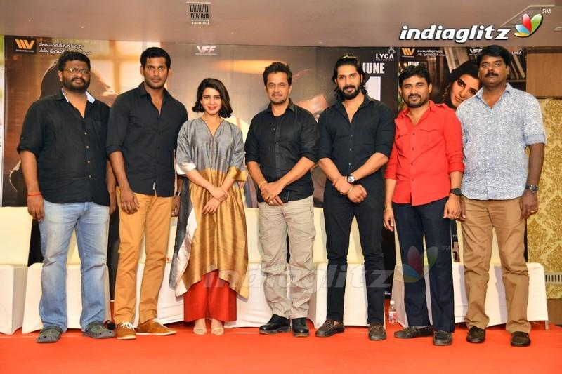 'Abhimanyudu' Press Meet