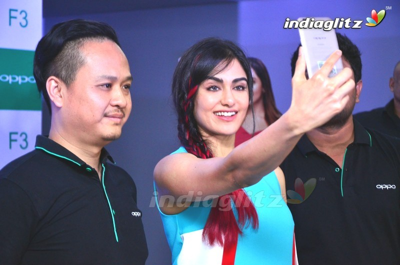 Adah Sharma Launches Oppo New Mobile