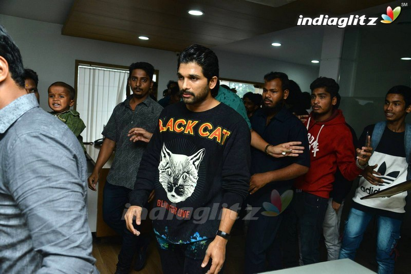 Allu Arjun Birthday Celebrations