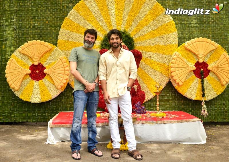 Allu Arjun - Trivikram New Movie Launch