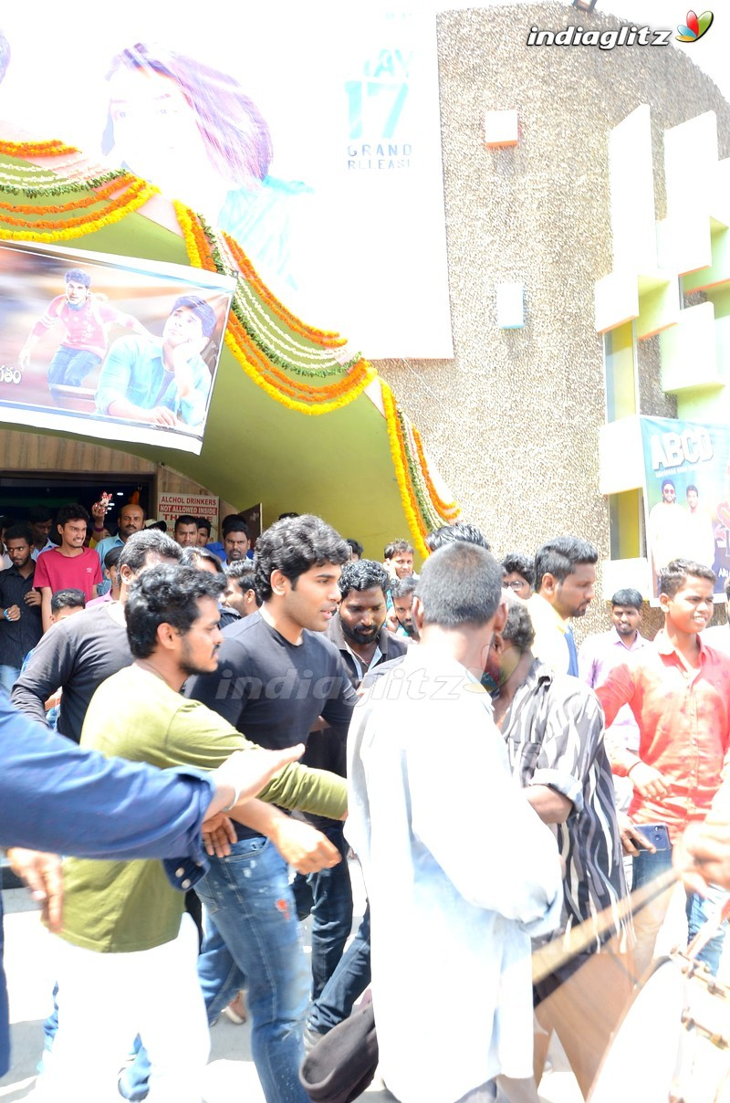 Allu Sirish @ Shanti Theater