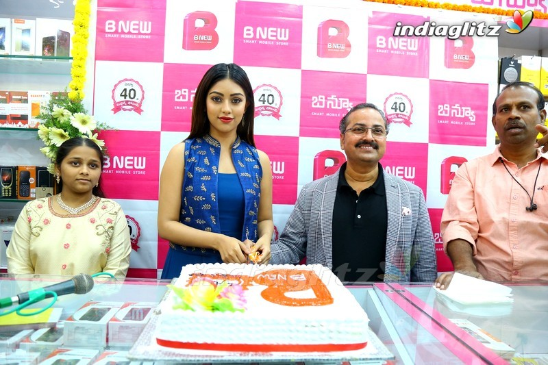 Anu Emmanuel Launch B New Mobile Store