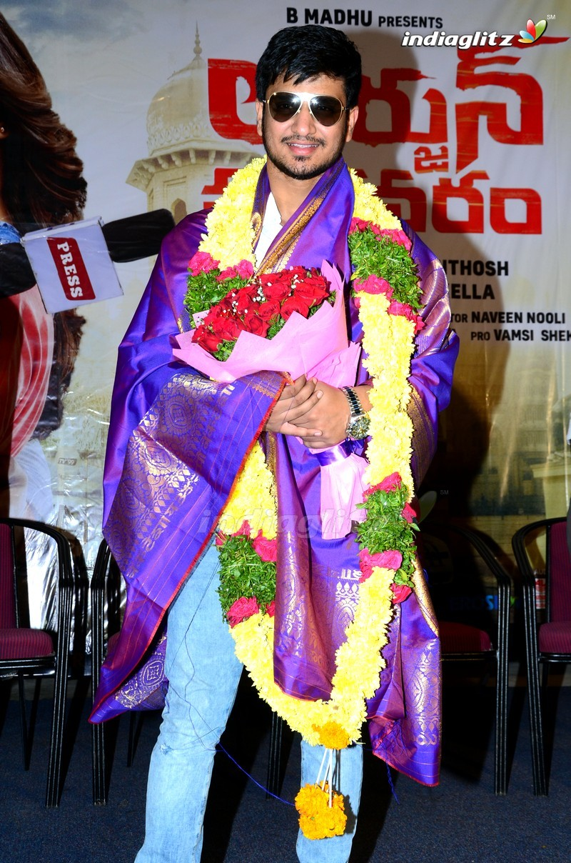 'Arjun Suravaram' Press Meet