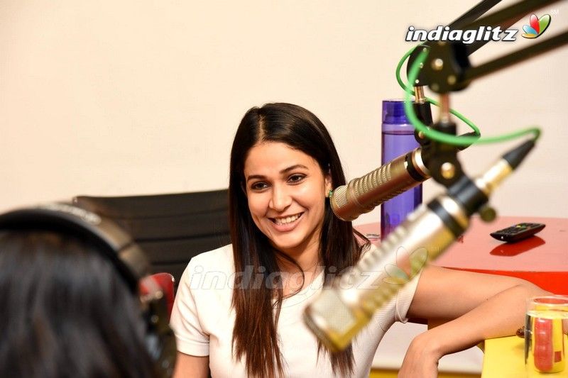 Lavanya Tripathi @ Radio Mirchi For 'Arjun Suravaram' Song Launch