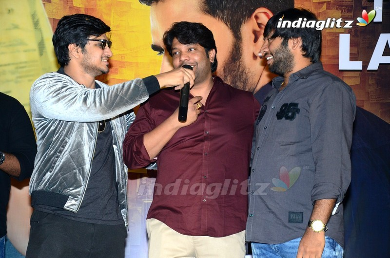 'Arjun Suravaram' Trailer Launch