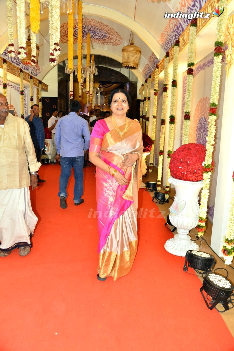 Celebs at Bandla Ganesh Brother's Daughter Wedding