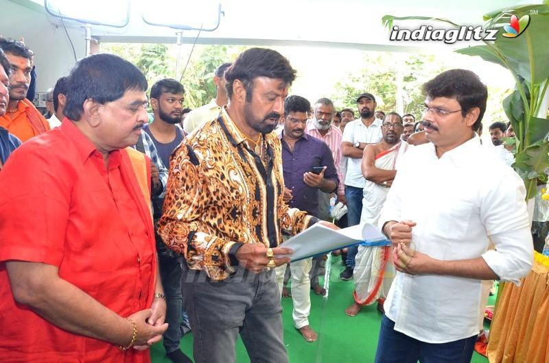 Balakrishna, Boyapati Srinu New Movie Launch