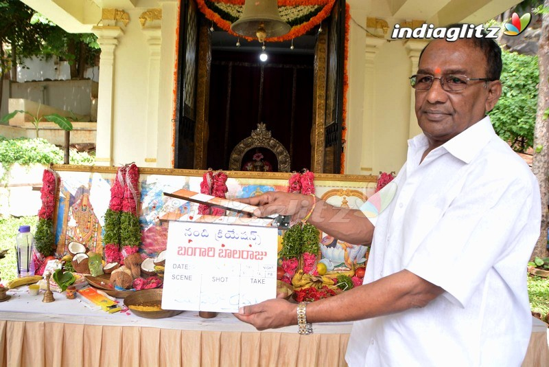 'Bangari Balaraju' Movie Launched