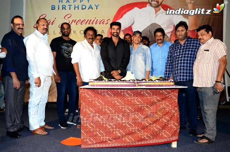 Bellamkonda Srinivas Birthday Celebrations