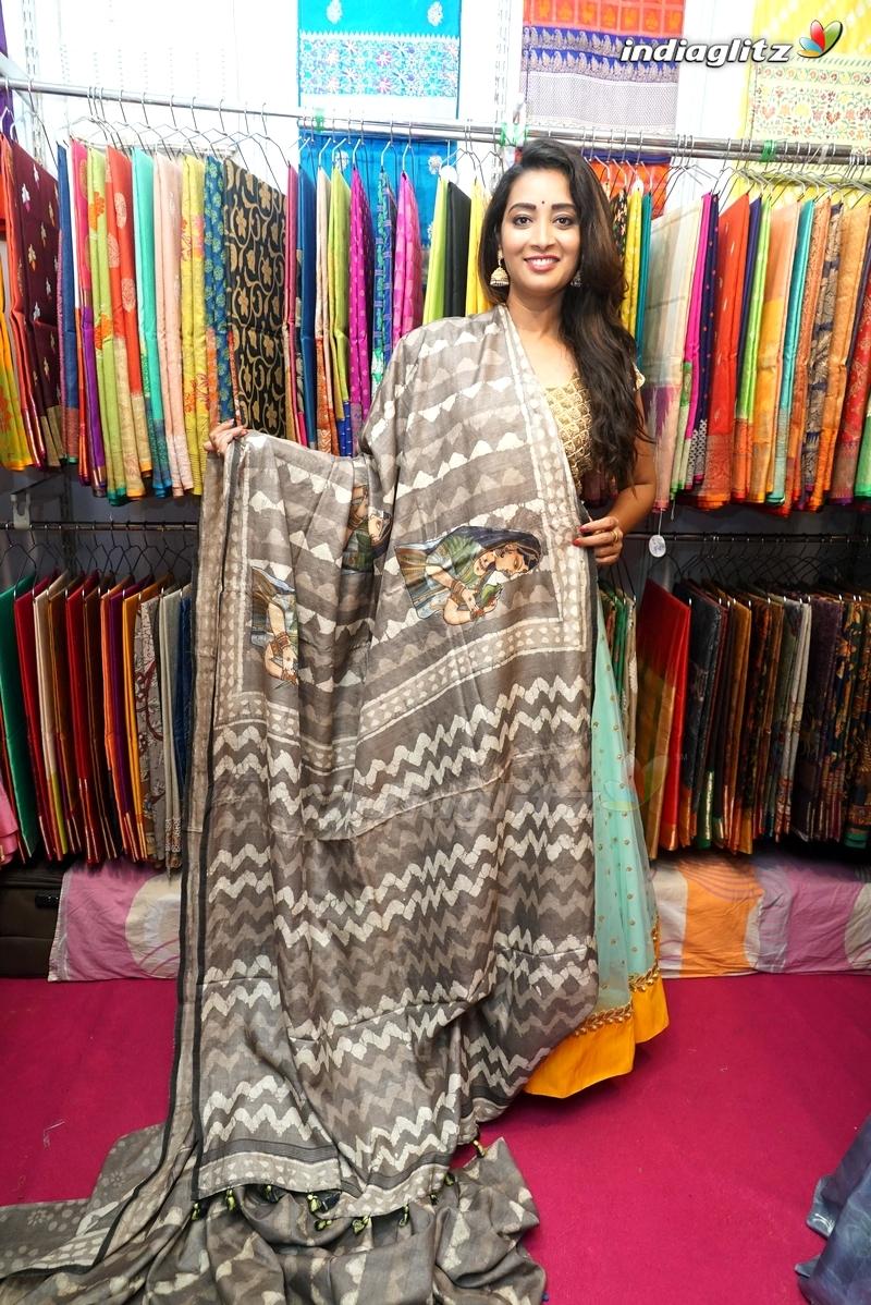 Actress Bhanu Sree Inaugurates Trendz Vivah Expo at Taj Krishna