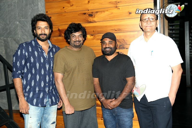 Puri Jagannadh Launches 'Bluff Master' First Look Poster