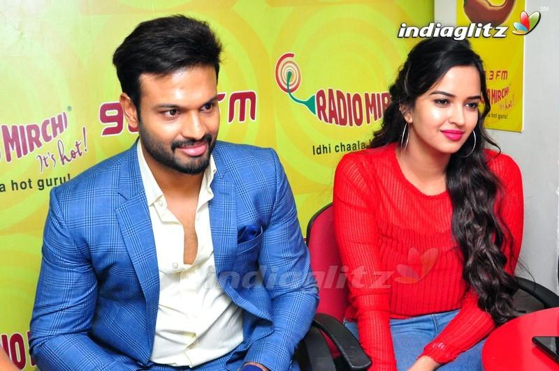 'Brand Babu' Team @ PVP Square Mall, Radio Mirchi in Vijayawada