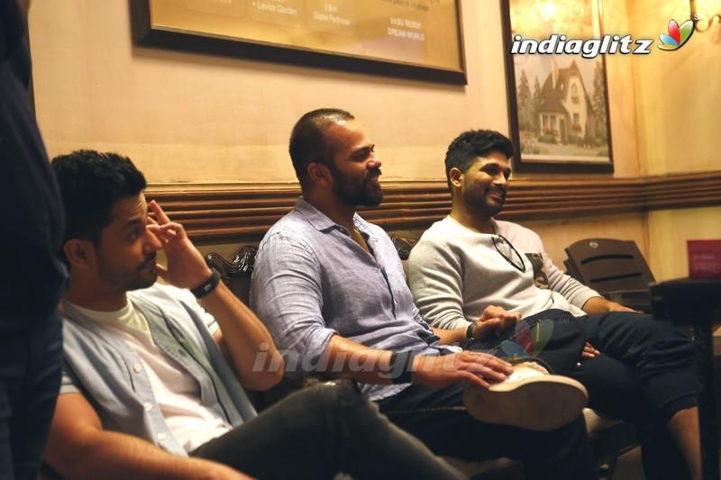 Allu Arjun with Golmaal 4 Team in Mumbai